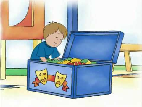 Caillou and the Dragon.flv