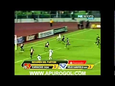 Goles de Maxi Morales con la camiseta de Vélez