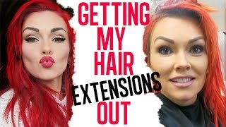 My Hair Story: Getting My Extensions Out by Kandee Johnson