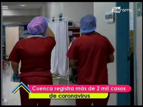 Cuenca registra más de 2 mil casos de coronavirus