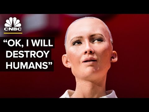 Robot At SXSW Says She Wants To Destroy Humans