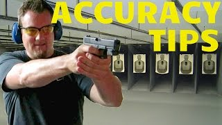 Video HOW TO SHOOT A HANDGUN BETTER! TOP TIPS FOR ACCURACY! MP3, 3GP, MP4, WEBM, AVI, FLV November 2018