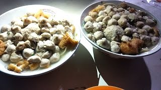 INI DIA!!! BAKSO BENTUK KRIKIL PAK SUPRI SEHARI 2000 BUTIR BAKSO | YOGYAKARTA STREET FOOD Video