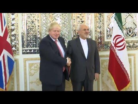 Στο Ιράν ο Μπόρις Τζόνσον για την απελευθέρωση της Ράτκλιφ