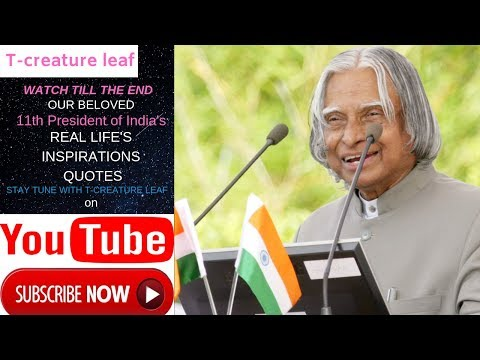 Thank you quotes - The Most Famous Inspirational Quotes By in Memory of A P J Abdul Kalam