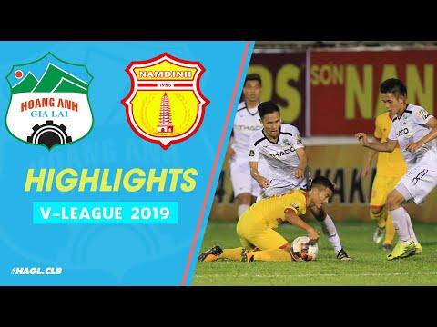 HIGHLIGHTS| HAGL 2 - 0 DNH NAM ĐỊNH| HLV Lee Tae Hoon có chiến thắng đầu tiên ở V.League 2019 - Thời lượng: 6:38.