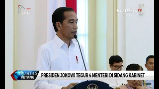 Video Makna Teguran Presiden Jokowi pada 4 Menteri di Sidang Kabinet MP3, 3GP, MP4, WEBM, AVI, FLV Juli 2019
