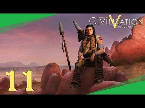 Civilization 5 ➤ #11 ➤ Vpád do Aztécké říše [CZ LP]