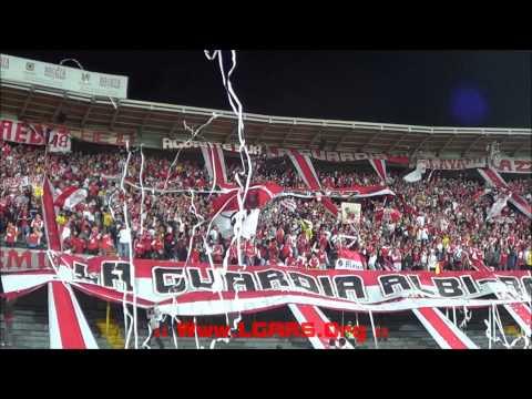 """- """"GANES O PIERDAS"""".... - FINAL COPA POSTOBÓN 2014 - Ind.Santa Fe Vs D.Tolima - - La Guardia Albi Roja Sur - Independiente Santa Fe"""