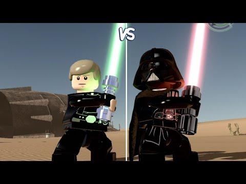 LEGO Star Wars: The Force Awakens - Luke Skywalker vs Darth Vader ...