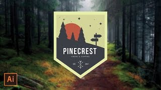 Illustrator Tutorial - Outdoors Wilderness Badge Logo (Illustrator Logo Tutorial) Thanks for watching! SUBSCRIBE for more design videos! In this Adobe Illust...