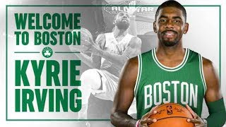 I talk about the Blockbuster trade between the Cleveland Cavaliers and Boston Celtics that will send Kyrie Irving to Boston.