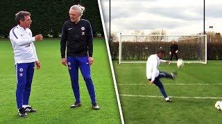 Video Gianfranco Zola Teaches Jimmy Bullard How To Take PERFECT Free-Kicks! MP3, 3GP, MP4, WEBM, AVI, FLV Desember 2018