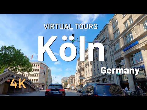 KÖLN / COLOGNE driving tour 🇩🇪 Germany 4K Video Tour Köln