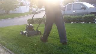8. Final Lawncutting Vid: 1999 Murray, Poulan P1500 and Stihl BR430 In Action
