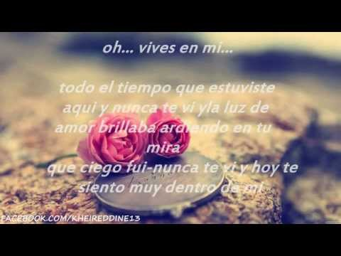 YOU SANG TO ME ❤ MARC ANTHONY ❤  Letra En Español  ❤
