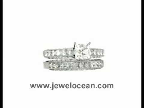 JewelOcean Diamond Ring