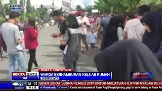 Video Gempa 5,2 SR Guncang Lombok Timur MP3, 3GP, MP4, WEBM, AVI, FLV Maret 2019
