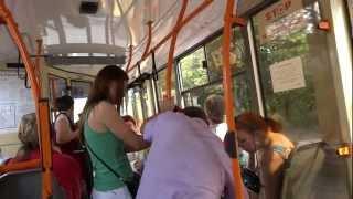Chisinau Moldova  City pictures : Ride on a local bus in Chisinau, Moldova