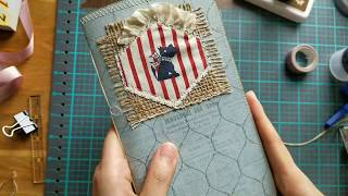 Here is how I make the Traveler's Notebook Inserts process video Part 2.