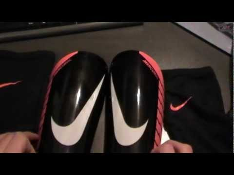 Nike Mercurial Lite Schienbeinschoner | Review/Test | German/HD | by AustrianSoccerSkillz