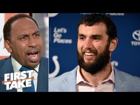 Video: Blame Andrew Luck's retirement on Colts owner Jim Irsay - Stephen A. | First Take