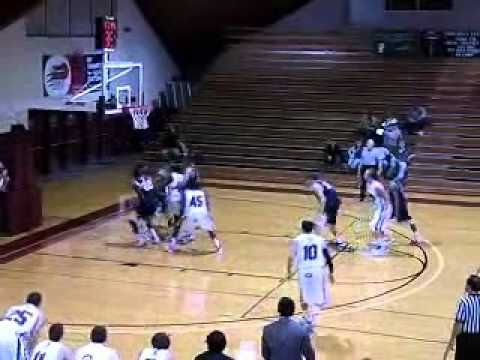 Guilford Men's Basketball vs. St. Mary's (MD) 1/3/11 Highlights