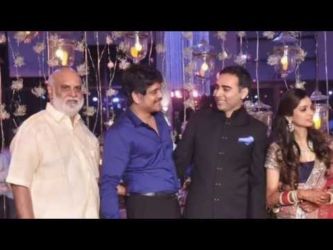 Tollywood Celebs @ Raghavendra Rao Sons Wedding