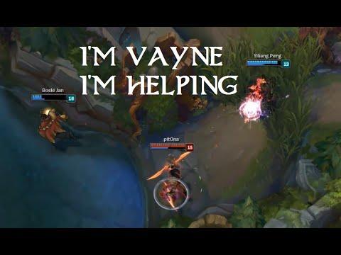 Liên Minh Huyền Thoại: Pha bóp team max thốn của Vayne