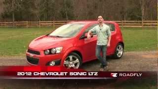 Chevrolet Sonic LTZ 2012 Test Drive&Car Review With Ross Rapoport By RoadflyTV