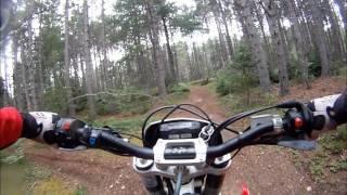 9. Husqvarna TE250 - Solo ride in Debert - Aug 2nd 2012