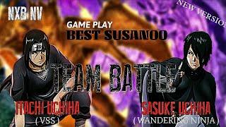 Video NxB NV - team battle - league chonin - itachi uchiha (VSS) & sasuke uchiha (wandering ninja) MP3, 3GP, MP4, WEBM, AVI, FLV Desember 2018