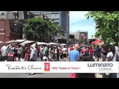 President's Choice 1000 Tastes of Toronto thumbnail