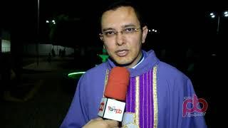 Mais de Mil Pessoas na Missa no Jardim da Paz celebrada pelo Padre Paulo Diniz em Sousa