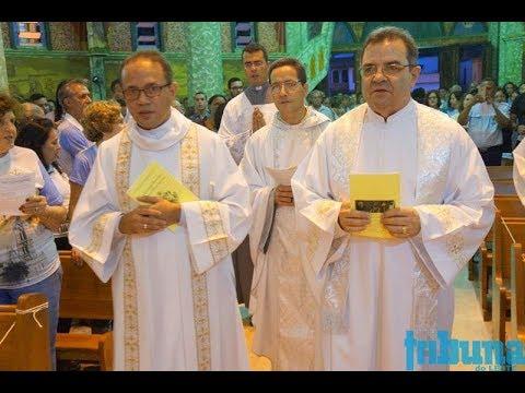 TN TV mostra Posse do Superior Geral dos Sacramentinos, Pe.  Mundinho, em Manhumirim MG