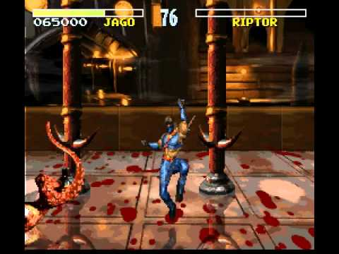 killer instinct super nintendo combo