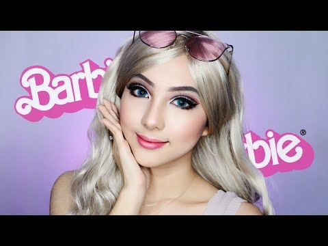 BARBIE Doll Makeup Transformation 💖