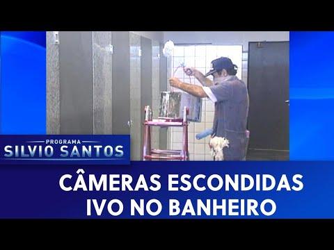 Ivo no banheiro   Câmeras Escondidas (30/06/19)