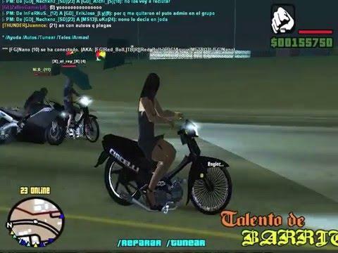 Motos Planchadas - GTA San Andreas - SAMP