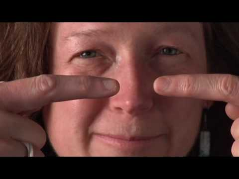 eyestrain - http://www.naturaleyecare.com) #1 of series. Demo of 3 simple eye exercises for the computer user for quick relief of eye fatigue and computer eye strain by...