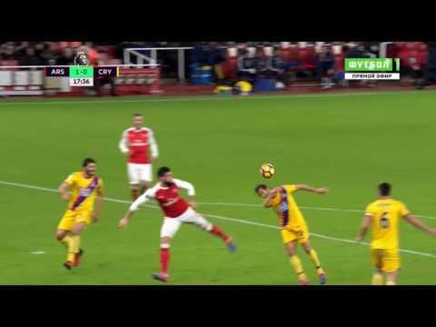 Oliver Giroud scorpion kick goal vs Crystal Palace HD