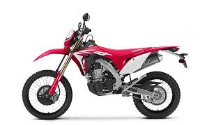 3. The all new Honda CRF450L