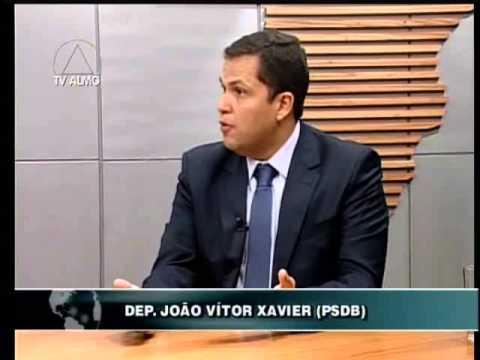 """Deputado é entrevistado pelo programa """"Mundo Político"""", da TV Assembleia"""