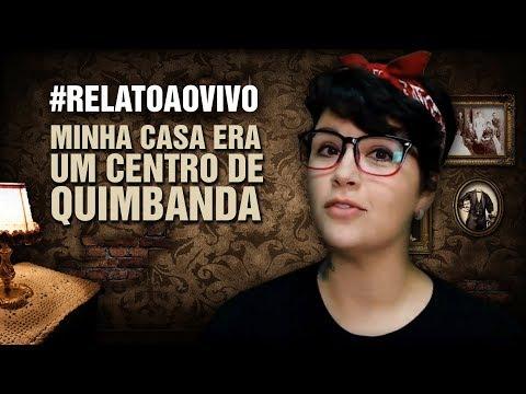 NOVO CABELO :) #RelatoAoVivo - 68: Minha Casa era Um Centro de Quimbanda
