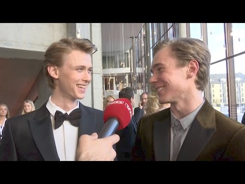 Gullruten 2017 ::: Interview with Henrik and Tarjei from «SKAM» (видео)