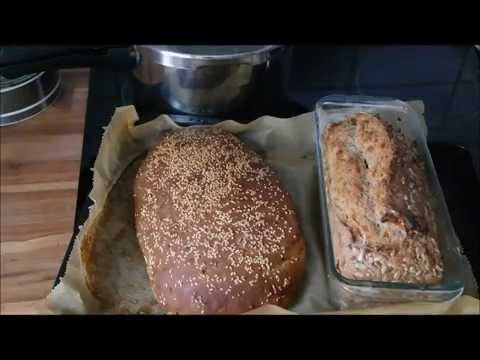 Brot ganz einfach selber backen: Zwiebelbrot & Vollkornbrot – ganz einfach – Brotrezept