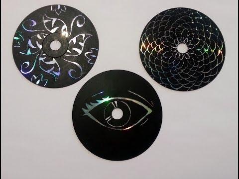 riciclo creativo - come riutilizzare dei vecchi cd-rom