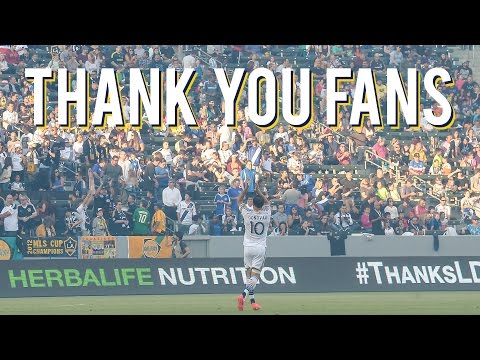 Video: Thank you fans!