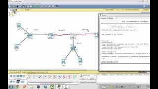 درس حول كيفية ربط ثلاث راوترات سيسكو ( Cisco ) بواسطة كيبل Serial و برمجتها بايعاز eigrp بالتفصيل