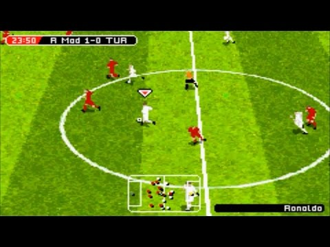 FIFA 2005 (Gameboy Advance Gameplay)